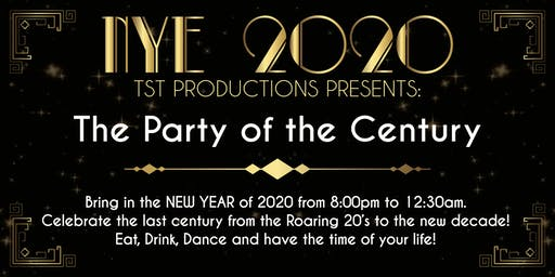 NYE - CLUB 2020 - The Party of the Century!