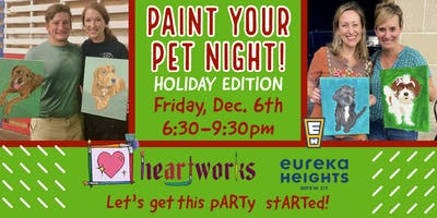 Paint your Pet Night! Holiday Edition!