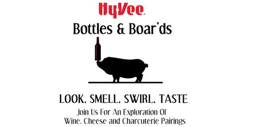 Bottle's and Boar'ds: Wine, Cheese and Charcuterie Tasting