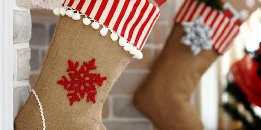 Holiday Stocking Decorating