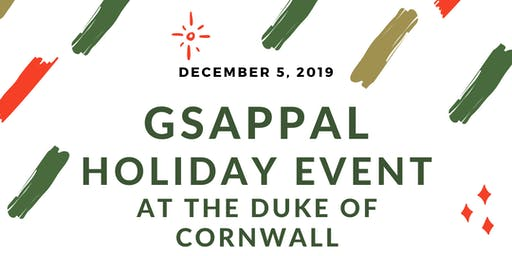 2019 GSAPPAL Holiday + End of the Year Event