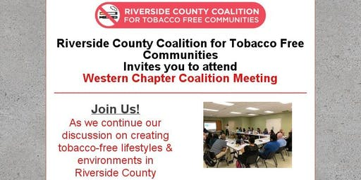 Riverside County Coalition for Tobacco Free Communities Meeting