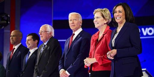 November Democratic Debate Watch Party at Manny's