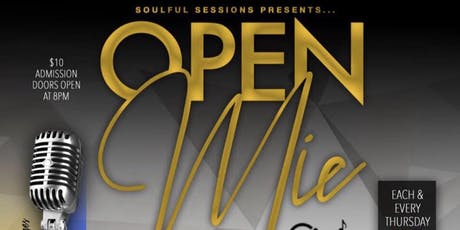 OPEN MIC THURSDAYS- SOULFUL SESSIONS tickets