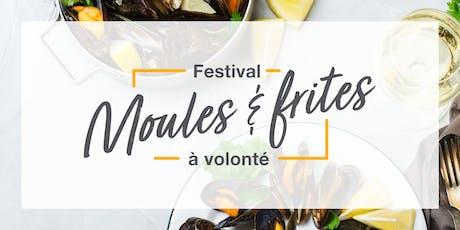 Festival Moules & frites à volonté tickets