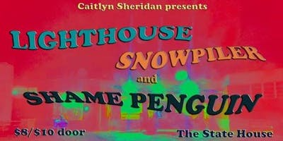 Indie Rock Night Feat. Lighthouse, Snowpiler, Shame Penguin and Hoseman