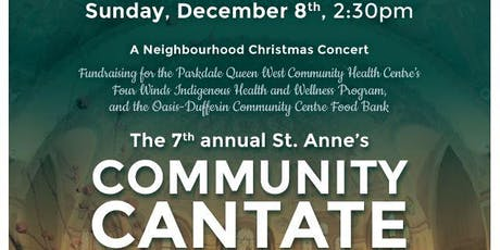 St. Anne's Community Cantate tickets