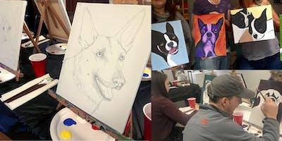 Paint Your Pet's Portrait Workshop  with Jennifer Poncin