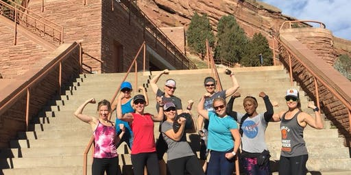 Red Rocks stair climbing workouts