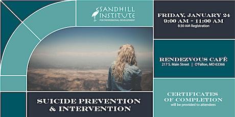 Suicide Prevention & Intervention tickets