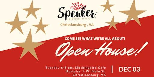 Speaker Sisterhood Open House