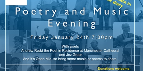 Poetry and Music Evening tickets