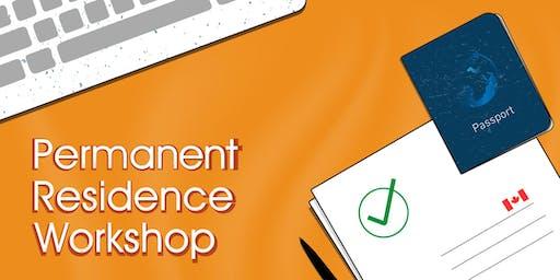 Permanent Residence Workshop - Burnaby Campus (Livestream workshop)
