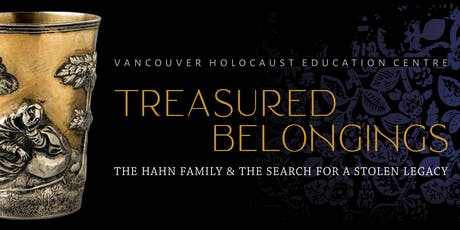 Treasured Belongings: The Hahn Family & the Search for a Stolen Legacy tickets