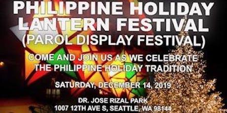 Philippine Holiday Lantern Festival 2019 tickets