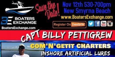 2nd Tuesday Fishing Seminar w Captain Billy Pettigrew