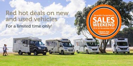 SmartRV Sales Weekend Christchurch - Nov 23rd/24th tickets