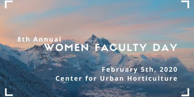 8th Annual Women Faculty Day