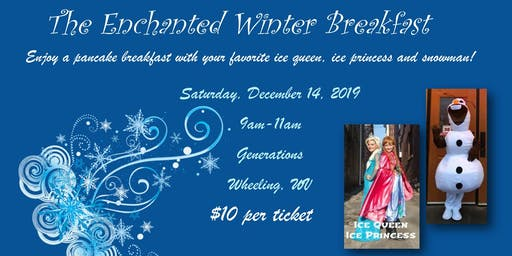Enchanted Winter Pancake Breakfast