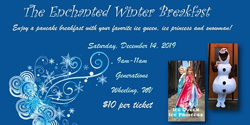Enchanted Winter Pancake Breakfast