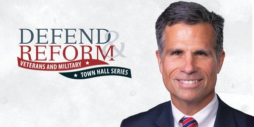 DEFEND & REFORM VETERANS AND MILITARY TOWN HALL SERIES: Rep. Dan Meuser