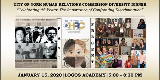 2020 City of York Human Relations Commission Diversity Dinner