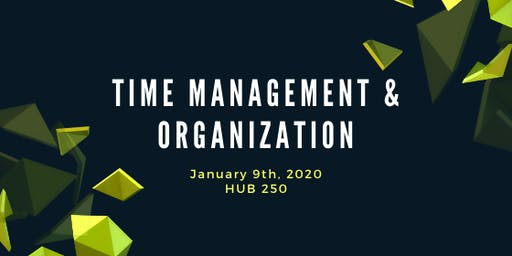 Skills for the Busy Faculty Member: Time Management and Organization