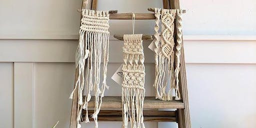 Macrame with Marti Woolford
