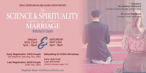 The Science and Spirituality of Marriage: Workshop for Couples