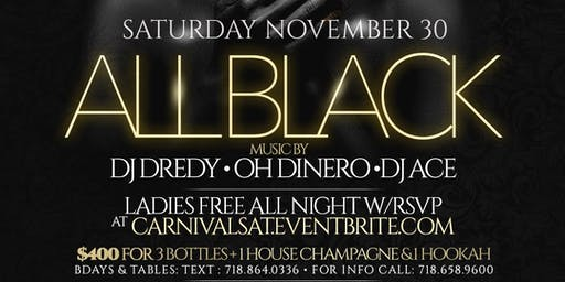 Black out The all Black party @ Jouvay Nightclub LITT