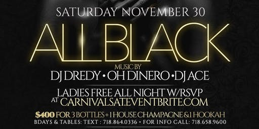 Backout ( The all black affair ) @ Jouvay Nightclub