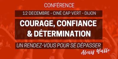 Courage Confiance & Détermination - Le 12 décembre  au Ciné Cap Vert