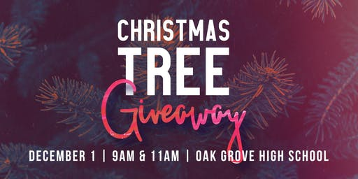 Southridge Christmas Tree Giveaway - Dec. 1st