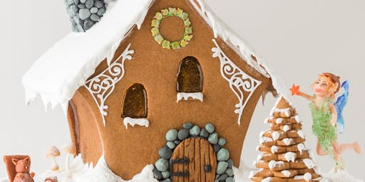 Build a Holiday Gingerbread House