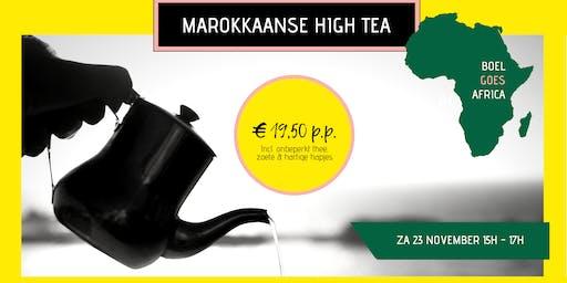 BOEL goes Africa: Marokkaanse high tea
