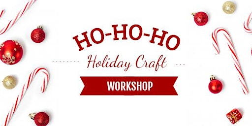 Christmas Sled Ornament Craft Workshop