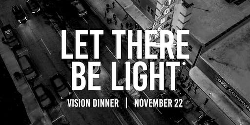 Let There Be Light Vision Dinner