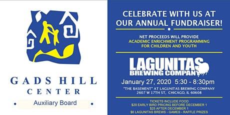 2020 Gads Hill Center Auxiliary Board Annual Fundraiser tickets