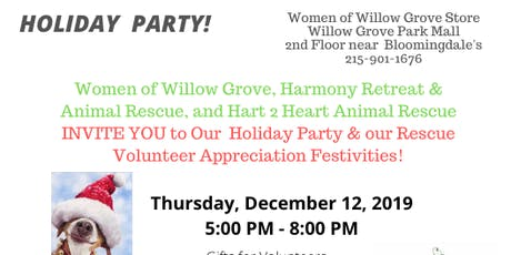 Holiday Party for EVERYONE & Volunteer Appreciation Night for Harmony tickets