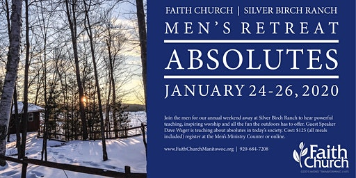 Men's Retreat at Silver Birch Ranch