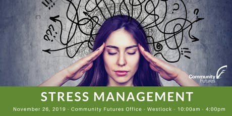 Stress Management - Westlock tickets