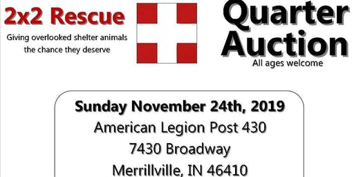 Quarter Auction for 2x2 Rescue