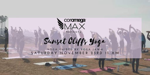 Coromega Presents Yoga on the Cliffs with Yoga Jawn