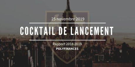 Cocktail de lancement du rapport Polyfinances 2018-2019 tickets