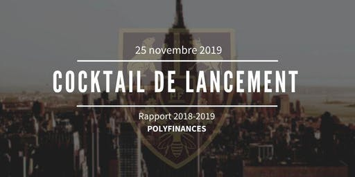 Cocktail de lancement du rapport Polyfinances 2018-2019
