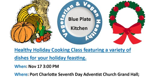 November Healthy Cooking Class