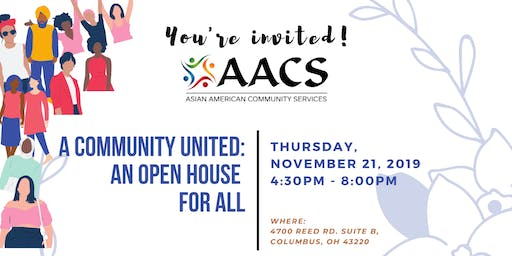 A Community United: An Open House For All