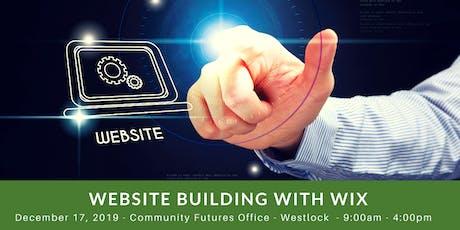 Website Building with Wix - Westlock tickets