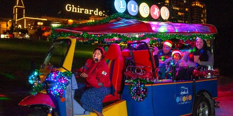 Holiday Lights and Sites San Francisco Tour on Lucky Tuk Tuk tickets