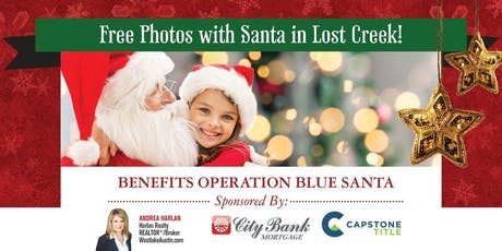 Free Photos with Santa in Lost Creek! tickets